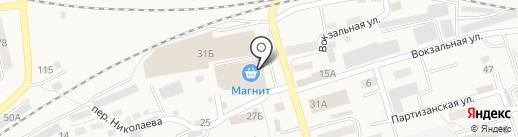 Универсальный магазин на карте Гурьевска