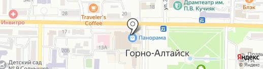 Charmel на карте Горно-Алтайска