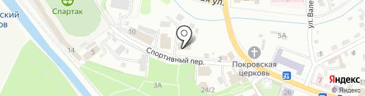 Пик на карте Горно-Алтайска