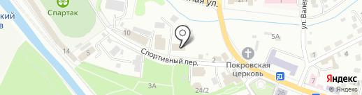 Геокад на карте Горно-Алтайска
