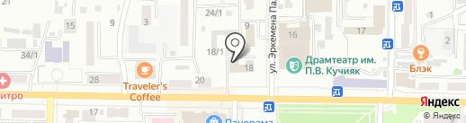 Управление образования г. Горно-Алтайска на карте Горно-Алтайска