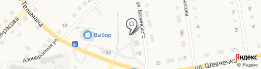 Наш город на карте Гурьевска