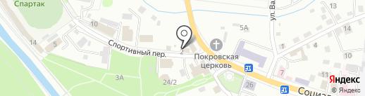 Хмельной бочонок на карте Горно-Алтайска