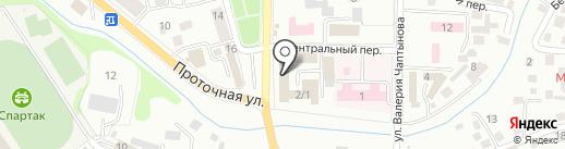 Ивушка на карте Горно-Алтайска