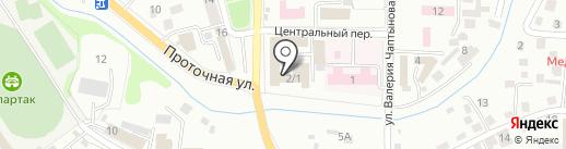 Гигабайт на карте Горно-Алтайска