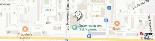 Государственный оркестр Республики Алтай на карте Горно-Алтайска