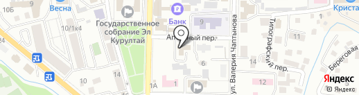 Пакеты на карте Горно-Алтайска
