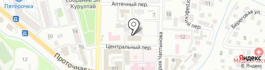 Верховный суд Республики Алтай на карте Горно-Алтайска