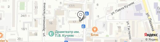 Алас на карте Горно-Алтайска
