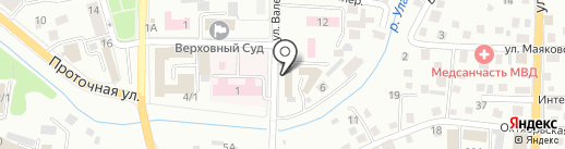 Комитет по молодежной политике, физической культуре и спорту Республики Алтай на карте Горно-Алтайска
