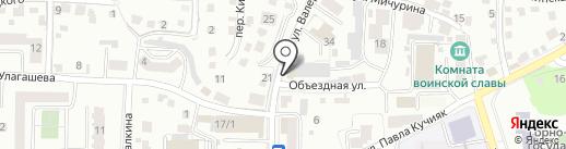 А-Студия на карте Горно-Алтайска