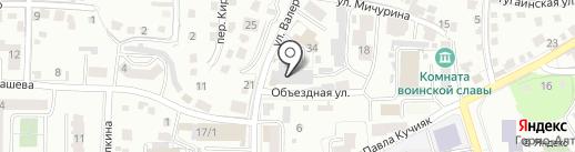 Электрон на карте Горно-Алтайска
