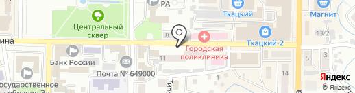 CyberPlat на карте Горно-Алтайска