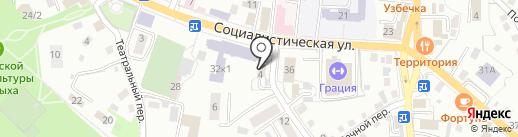 Территориальный отдел госавтодорнадзора по Республике Алтай на карте Горно-Алтайска