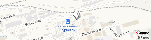 Интернет-СИТИ на карте Гурьевска
