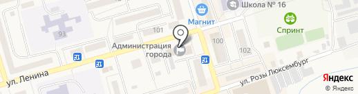 Инспекция Гостехнадзора Гурьевского района на карте Гурьевска