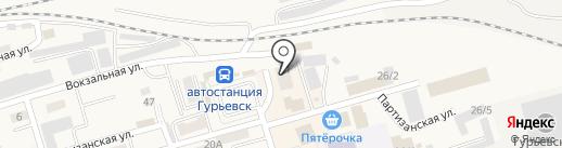 ЕвроОкна на карте Гурьевска
