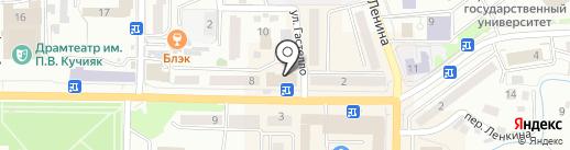 СТАТУС на карте Горно-Алтайска