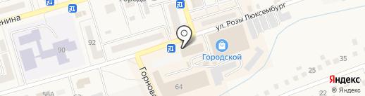 Три слона на карте Гурьевска