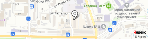 Русь на карте Горно-Алтайска