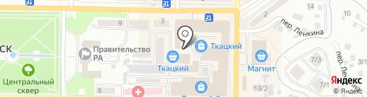 Мастерская по ремонту обуви на карте Горно-Алтайска