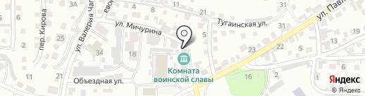 Медико-санитарная часть МВД России по Республики Алтай на карте Горно-Алтайска
