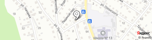 Ника на карте Горно-Алтайска