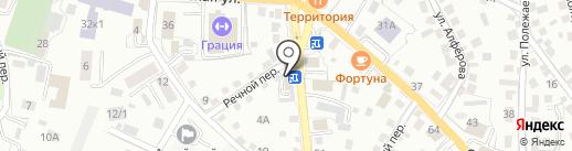 Прораб на карте Горно-Алтайска