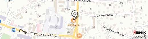 Кокосы на карте Горно-Алтайска