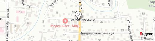 ФАРА на карте Горно-Алтайска