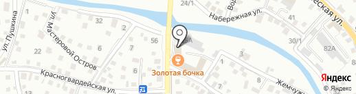 Золотая бочка на карте Горно-Алтайска