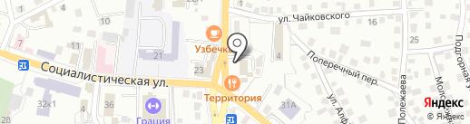 Piv@teka на карте Горно-Алтайска