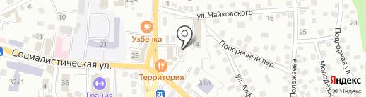 Фабрика чистоты на карте Горно-Алтайска