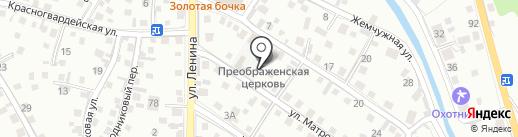 Церковная лавка на карте Горно-Алтайска