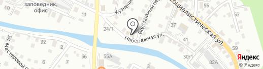 777 на карте Горно-Алтайска
