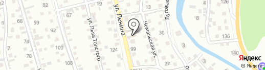 Магазин строительных материалов на карте Горно-Алтайска