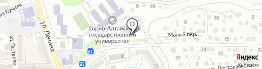 PurPur на карте Горно-Алтайска