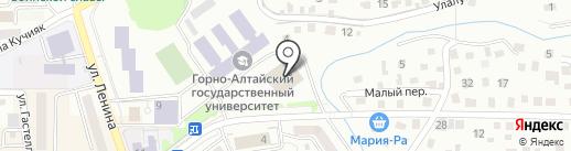 21 век на карте Горно-Алтайска