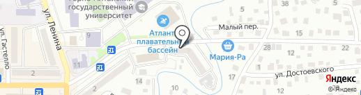 Авиалесоохрана на карте Горно-Алтайска