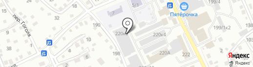 Оптовая база на карте Горно-Алтайска