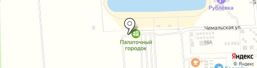 Рублевка на карте Аската