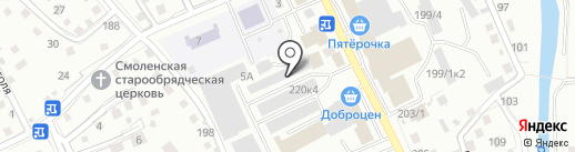 TianDe на карте Горно-Алтайска