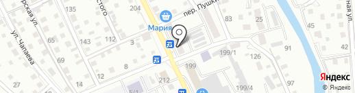 Почтовое отделение №7 на карте Горно-Алтайска
