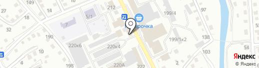 Гарант на карте Горно-Алтайска
