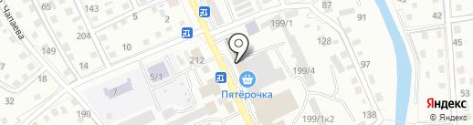 АВТОSHOP на карте Горно-Алтайска