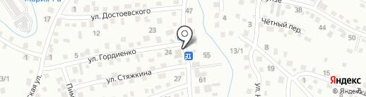Магазин хозяйственных товаров на карте Горно-Алтайска