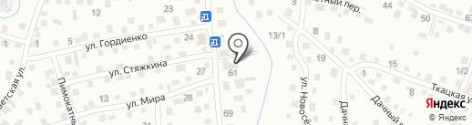 Центр металлопроката на карте Горно-Алтайска