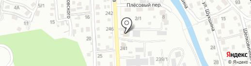 Все из камня на карте Горно-Алтайска