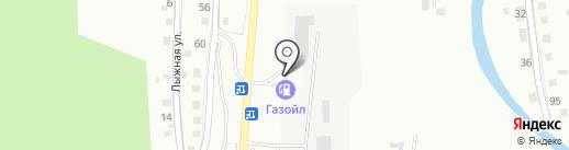 АГЗС Горгаз на карте Горно-Алтайска