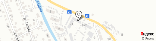 Торгово-производственная компания на карте Горно-Алтайска